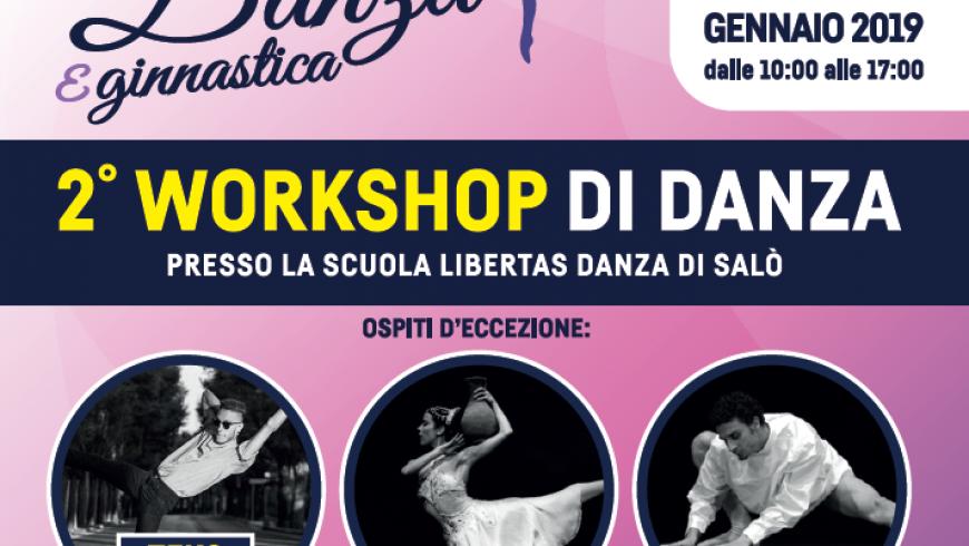 2° WORKSHOP DI DANZA Classica, Contemporaneo e Hip Hop con Isabel Seabra, Valerio De Vita e Teko Matteo Vignali